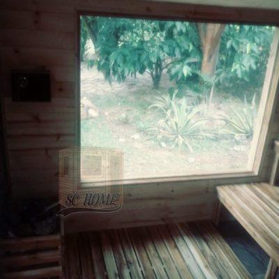 Sauna con ventana-min